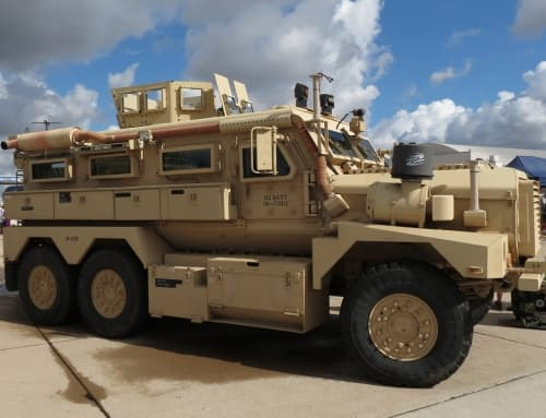 Force Protection Inc Cougar 6×6