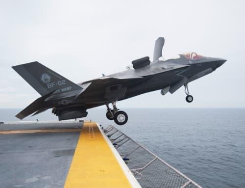 The F-35B revolutionizes naval airpower