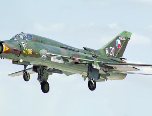 Sukhoi Su-22 (NATO reporting name Fitter)