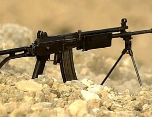 Galil 5.56 mm Marksman Rifle