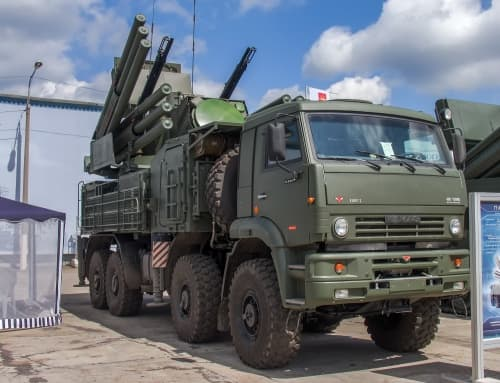 "SA-22 ""Greyhound"" (96K6 Pantsir-S1)"