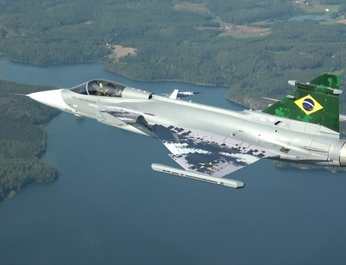Gripen E purchases modernize Brazil's tactical fighter force